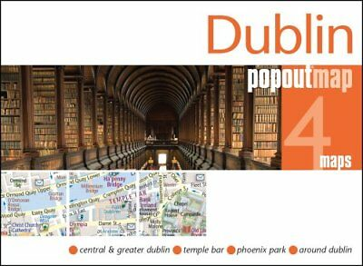 Dublin PopOut Map by PopOut Maps 9781910218471 (Sheet map, folded, 2017)