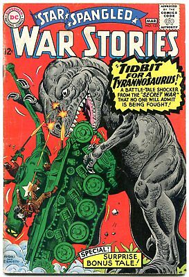 Star Spangled War Stories #125 1966-DINOSAUR SCI FI ISSUE--DC Silver age VG