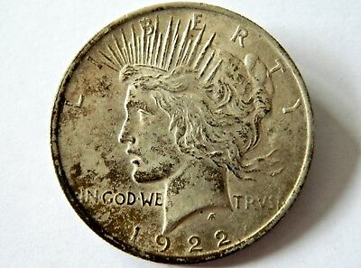1922 United States of America One Dollar Peace Coin
