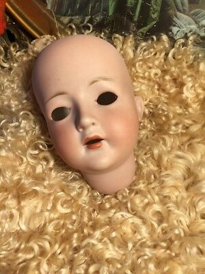 ~ As Is As Found! Antique Larger German Revalo Doll Head ... Needs TLC ~