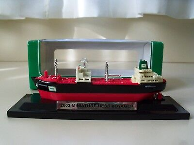 2002 Miniature Hess Voyager Oil Tanker / Ship - New In Box
