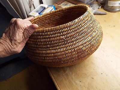 Old OVAL  Basket, Native American Indian, lot 3