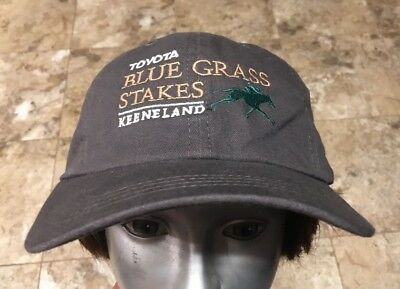 2016 Toyota Blue Grass Stakes at Keeneland Kentucky Horse Track Race Hat Cap