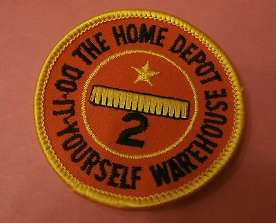 The Home Depot 2 Year Service Award New Patch