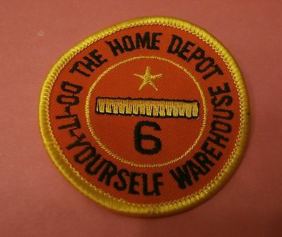The Home Depot 6 Year Service Award New Patch