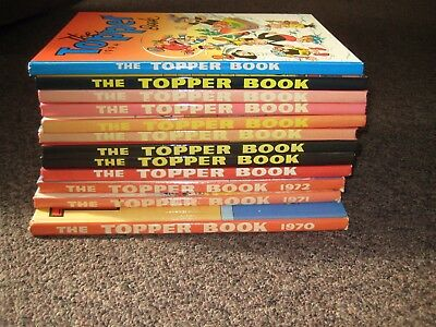 The Topper Book Collection 1970 onwards