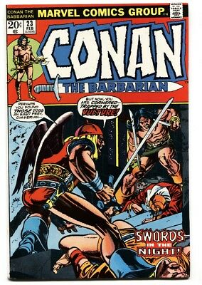 Conan The Barbarian #23 1973 Marvel Comics-First Red Sonja Vf/nm