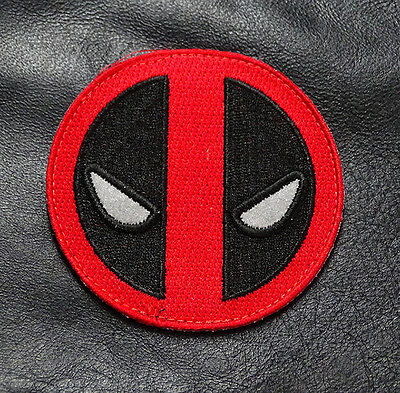 Reflective Glow In The Dark Deadpool Tactical Morale Velcro Patch (Mdp2)