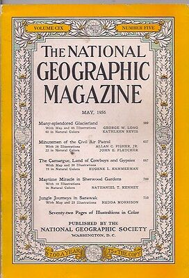 national geographic-MAY 1956-JUNGLE JOURNEYS IN SARAWAK.