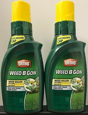 ORTHO Weed B Gon Weed Killer for Lawns Concentrate - 64-ounces - NEW