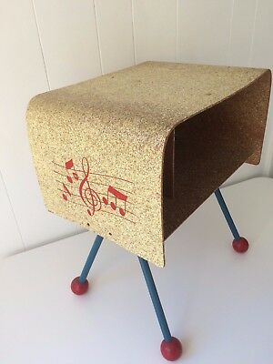 RARE Retro MUSIC Table MADE IN SWEDEN Small Vintage TREE CRAFT CHILD'S WOOD DESK