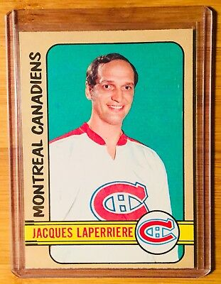1972-73 Opc O-Pee-Chee Montreal Canadiens Jacques Laperriere # 205 Nr-Mt L@@k