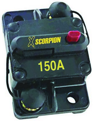 Xscorpion CB150A Manual Reset Circuit Breaker 150 Amp