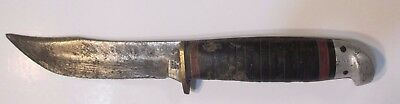 Vintage Official Boy Scouts Of America Knife Fixed Blade