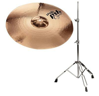 "Top Paiste 16"" PST8 Crash Becken mit warmem Sound und stabilem Stativ 60-120cm"