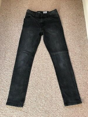 Next Boys Super Skinny Jeans Age 11 Years VGC