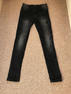 Next Boys Super Skinny Jeans Age 12 Years VGC