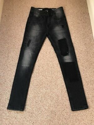 Next Boys Super Skinny Jeans Age 12 Years Worn Once
