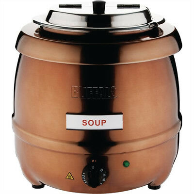 Buffalo Soup Kettle Copper Finish 10 litre ltr - CP851  Catering Commercial