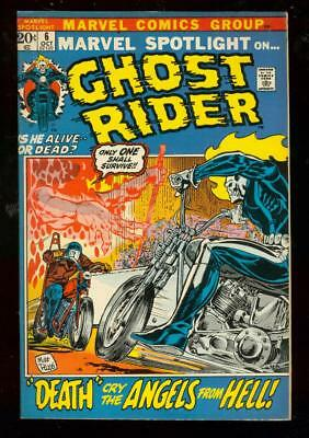 Marvel Spotlight #6 1972-Death Angels Hell-Ghost Rider Vf-