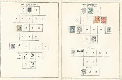 Jordan Collection 1920-1948 on 11 Minkus Specialty Pages