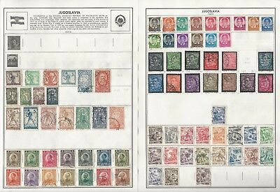 Jordan & Jugoslavia Collection 1918-1988 on 18 Harris Pages