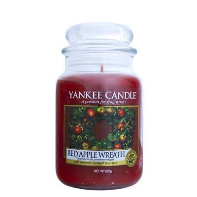 Yankee Candle Red Apple Wreath Grosses Glass 623 g