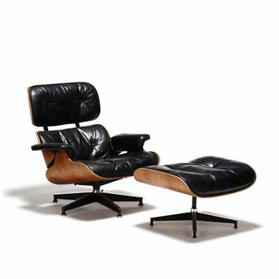 Charles and Ray Eames, Rosewood Lounge Chair and Ottoman Lot 200