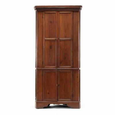 North Carolina Chippendale Corner Cupboard Lot 266