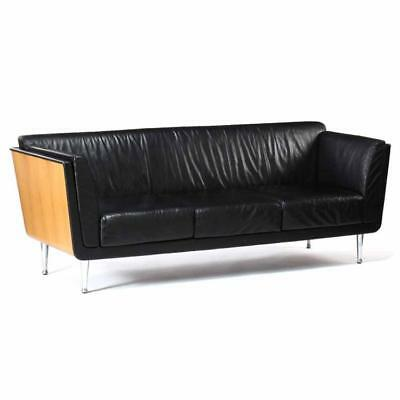 Herman Miller, Goetz Leather Sofa Lot 198
