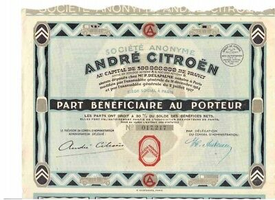 Andre Cotroen   1927