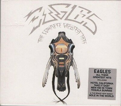THE EAGLES The Complete Greatest Hits 2 CD ALBUM + 50 PAGE BOOKLET  NEW