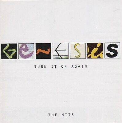 GENESIS Turn It On Again The Hits CD ALBUM  NEW - NOT SEALED