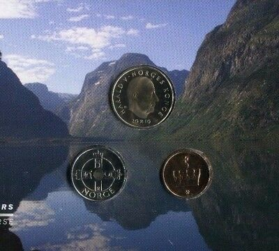 2010 Norway Uncirculated Coin Set