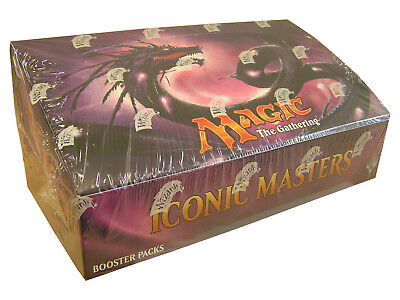 Magic Iconic Masters Booster Display - Sealed