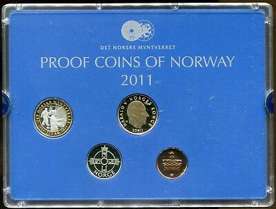 2011 Norway Proof Coin Set