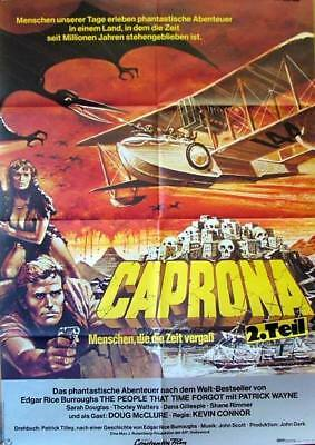 Caprona 2 THE PEOPLE THAT TIME FORGOT original vintage 1 sheet movie poster 1977