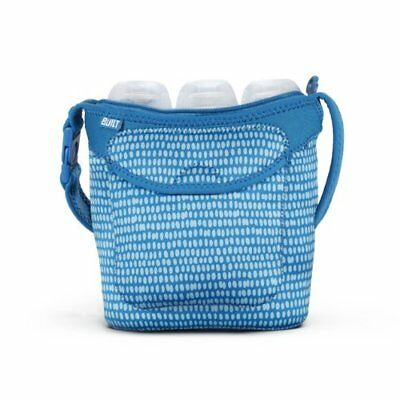 Built NY Three Bottle Tote Dribble Dots (Blue)