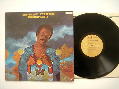WILSON PICKETT - Join me and let's be free - RCA 1975