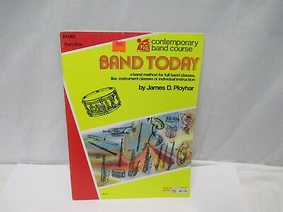 Band Today Contemporary Band Course Drums Part One CBC37 Softcover Book