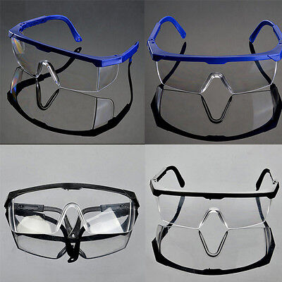 Actual Safety Eye Protection Clear Lens Goggles Glasses From Lab Dust Paint JR