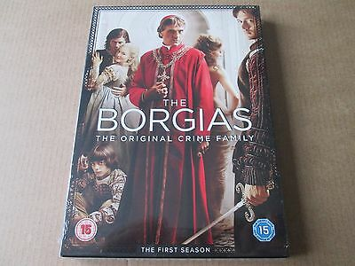 The Borgias - Series 1 - Complete (DVD,3-Disc Set) NEW AND SEALED REGION 2 UK