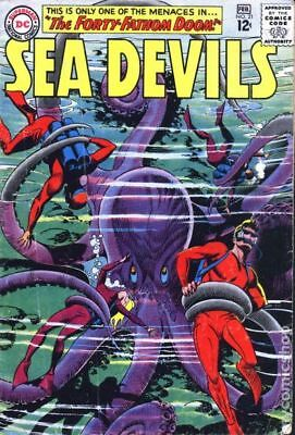 Sea Devils #21 1965 GD/VG 3.0 Stock Image Low Grade