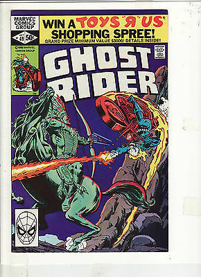 Ghost Rider #49 Vf/nm