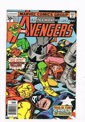 Avengers # 157 A Ghost of Stone !  grade 8.0 scarce book !!