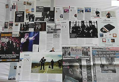 ELBOW : CUTTINGS COLLECTION -interviews adverts-