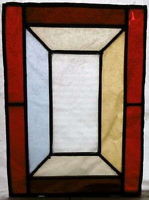Victorian Stained and Leaded Glass Lantern Panel, English circa 1990.