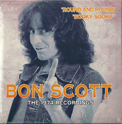 Bon Scott - the 1974 recordings (solid white vinyl 7 Inch EP), NEW