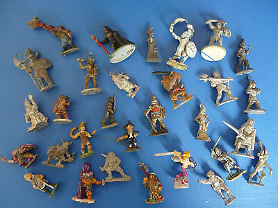 Assorted Solid Based Fastasy Mini`s Ral Partha, Minfigs, Dixon etc Multi-List.