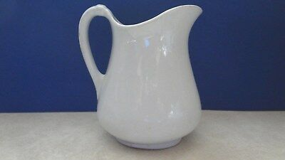 Antique Ironstone White Pitcher - Excellent condition